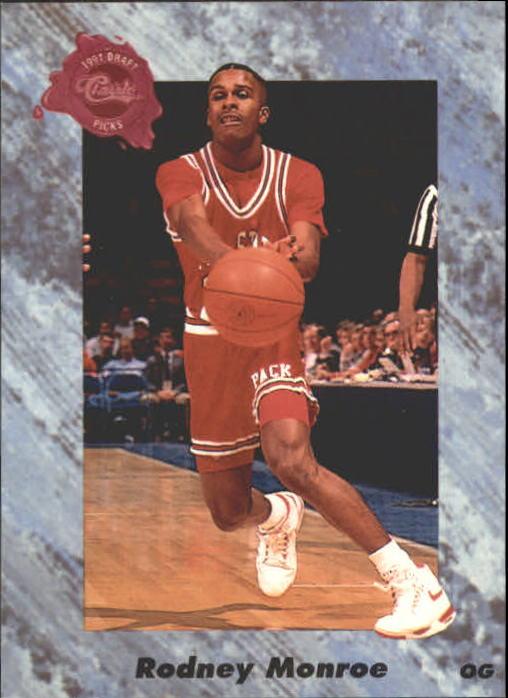1991 Classic Four Sport #168 Rodney Monroe
