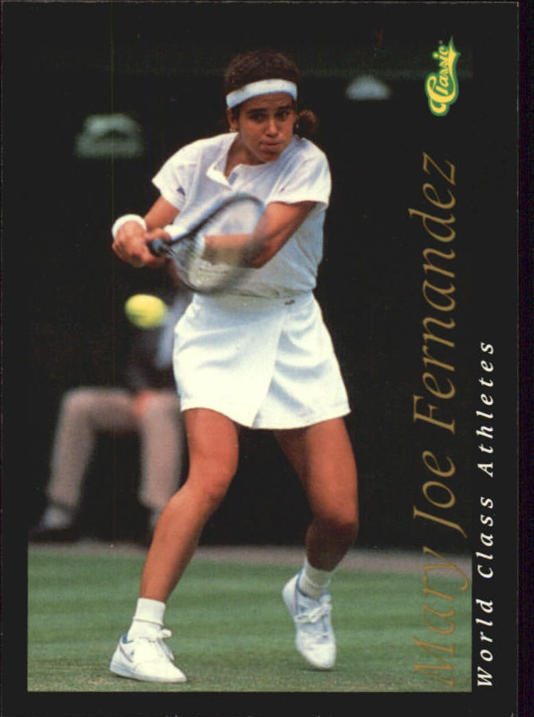 1992 Classic World Class Athletes #38 Mary Joe Fernandez/Tennis