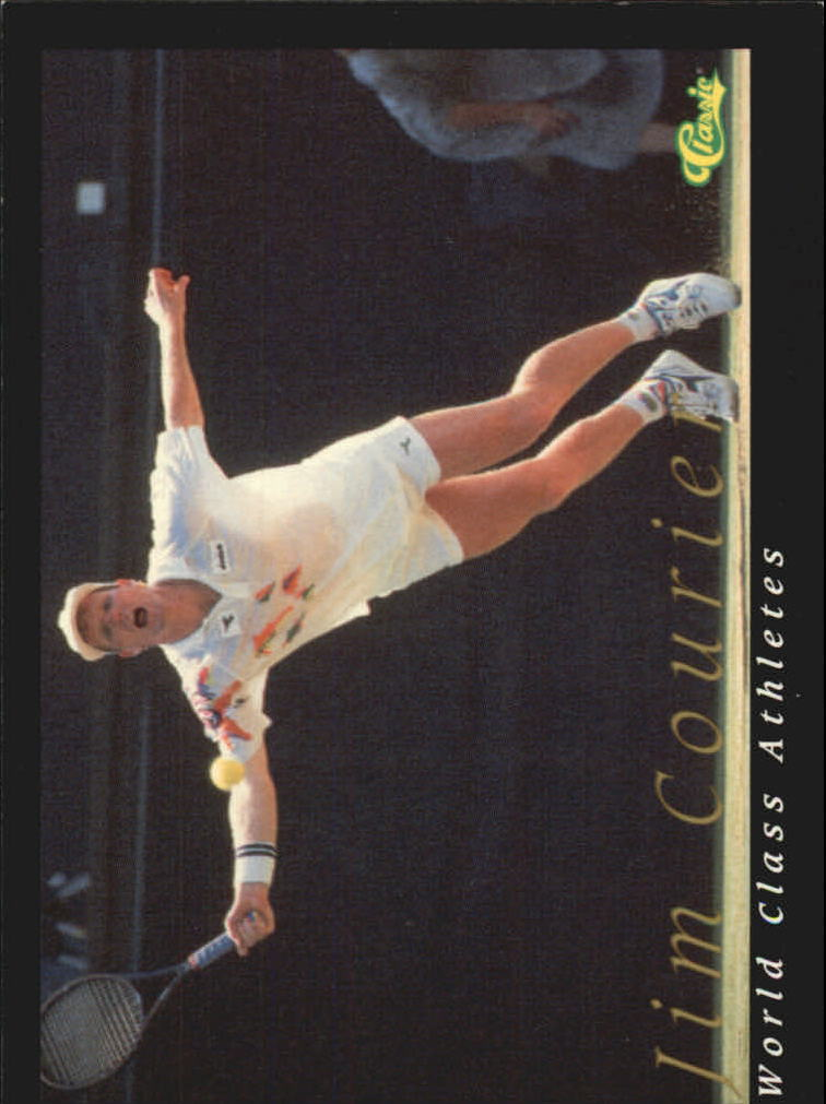 1992 Classic World Class Athletes #46 Jim Courier/Tennis