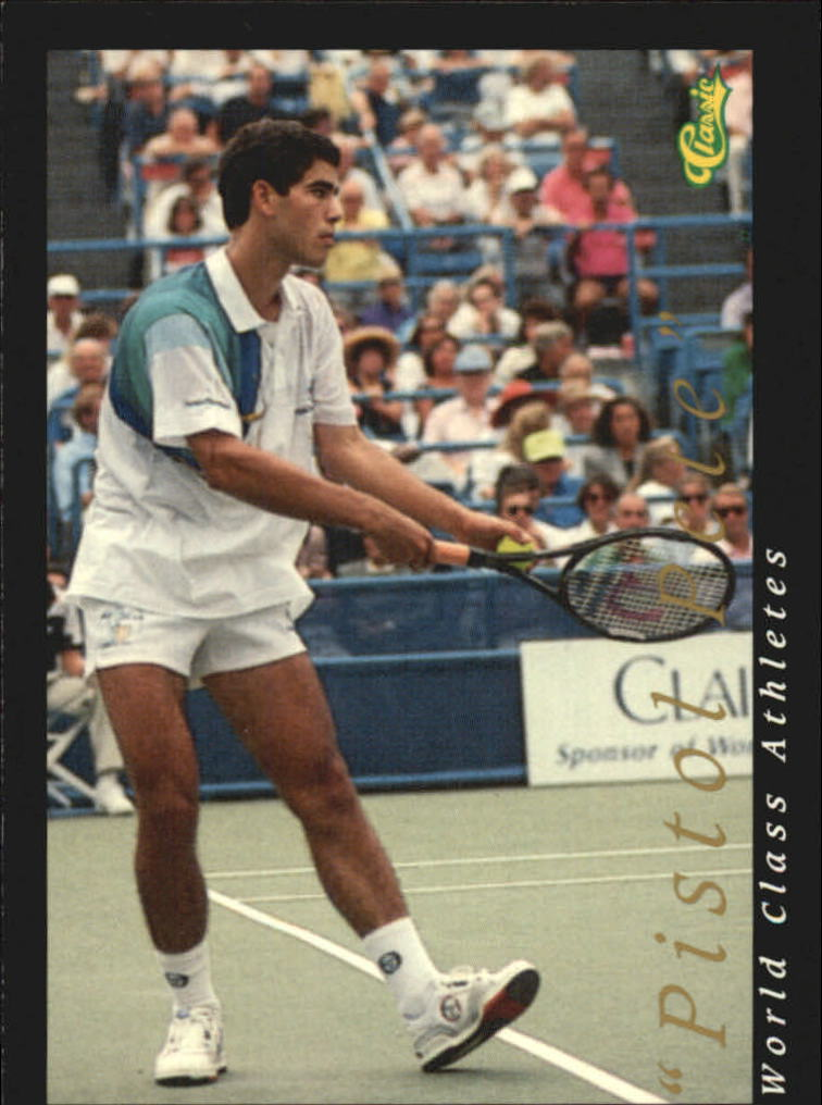 1992 Classic World Class Athletes #59 Pete Sampras/Pistol Pete