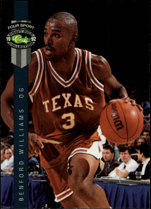 1992 Classic Four Sport #14 Benford Williams