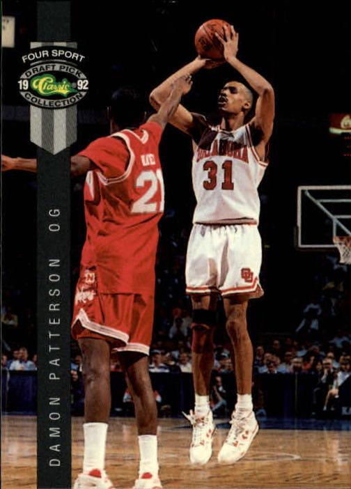 1992 Classic Four Sport #15 Damon Patterson