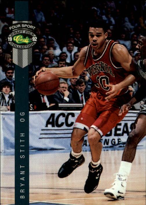 1992 Classic Four Sport #16 Bryant Stith