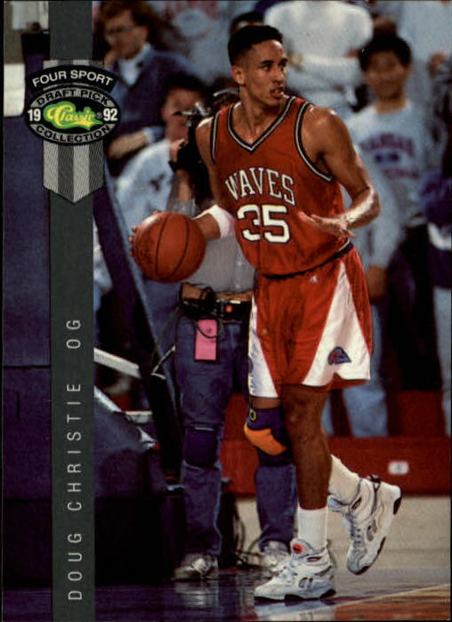 1992 Classic Four Sport #17 Doug Christie