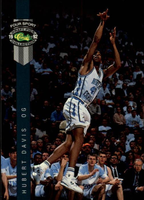 1992 Classic Four Sport #19 Hubert Davis