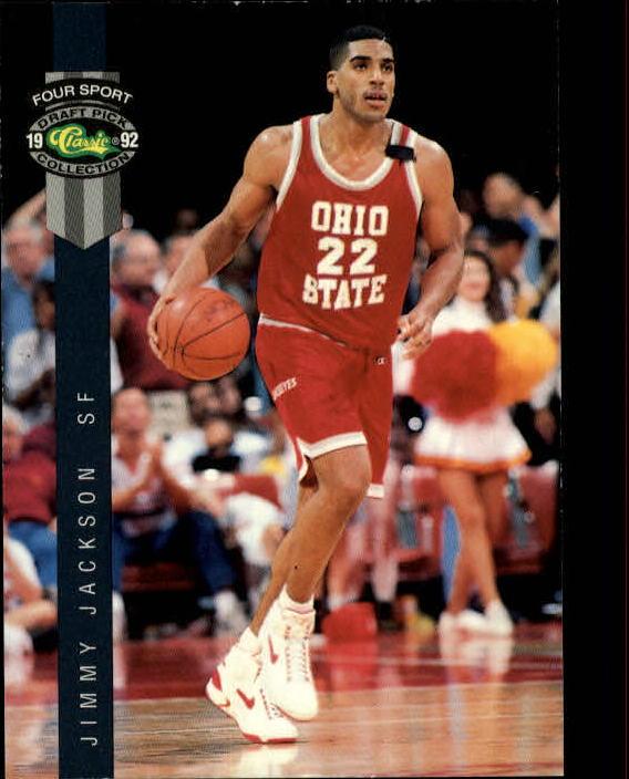 1992 Classic Four Sport #28 Jimmy Jackson