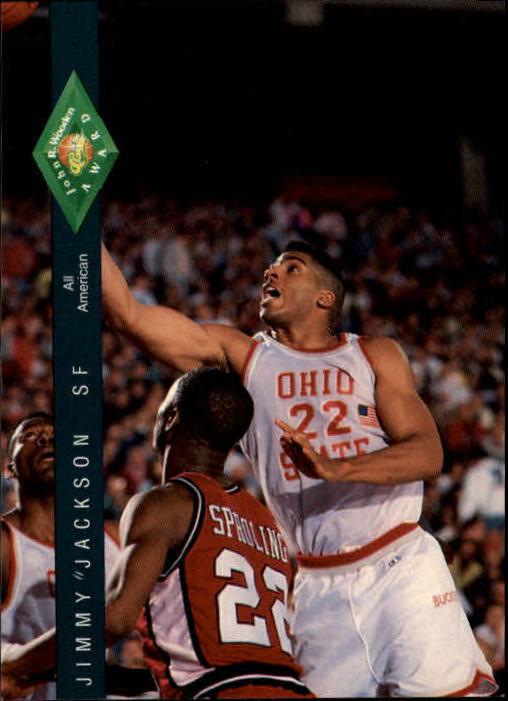 1992 Classic Four Sport #317 Jimmy Jackson JWA