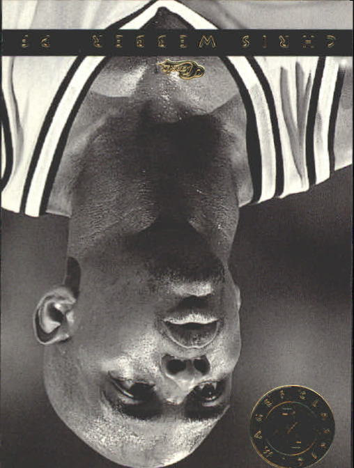 1993-94 Images Four Sport #132 Chris Webber B/W