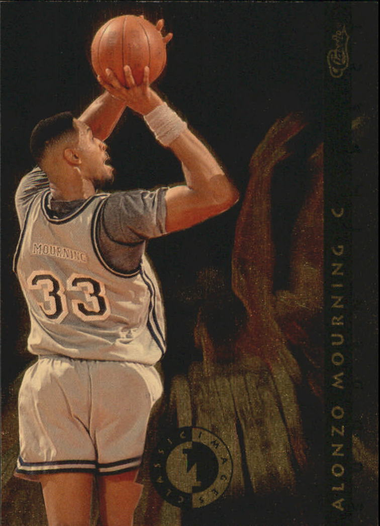 1993-94 Images Four Sport Sudden Impact #SI10 Alonzo Mourning