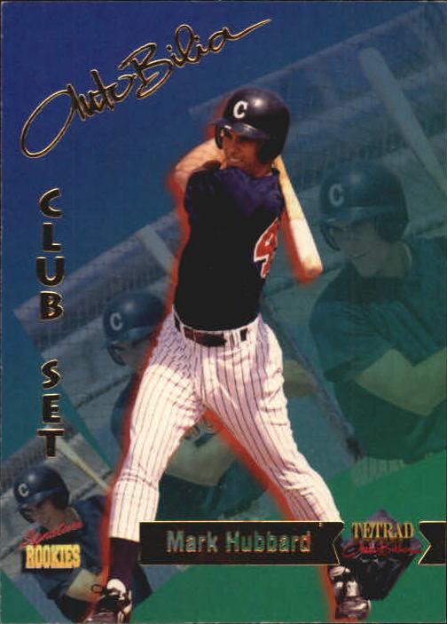 1995 Signature Rookies Tetrad Autobilia #30 Mark Hubbard