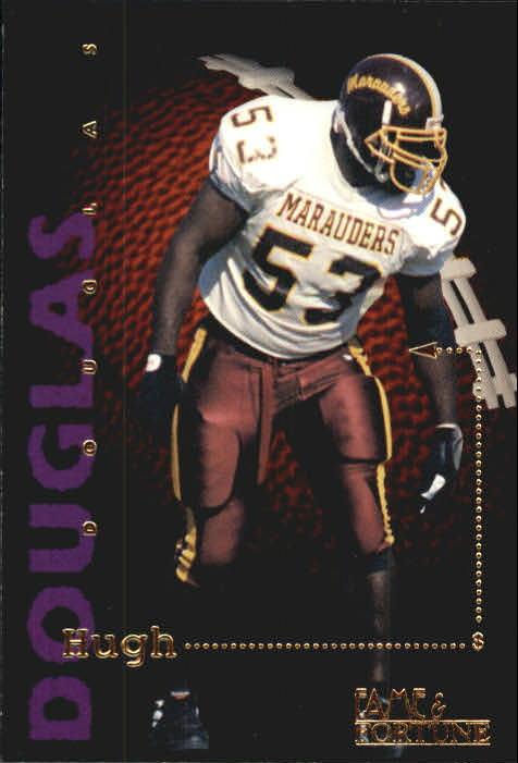 1995 Signature Rookies Fame and Fortune #63 Hugh Douglas