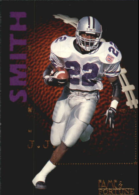 1995 Signature Rookies Fame and Fortune #85 J.J. Smith