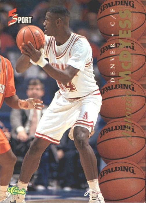 1995 Classic Five Sport #2 Antonio McDyess