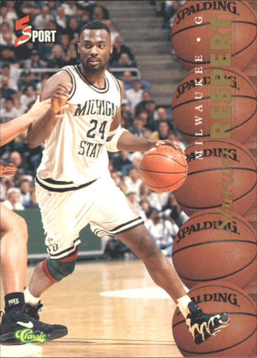 1995 Classic Five Sport #7 Shawn Respert