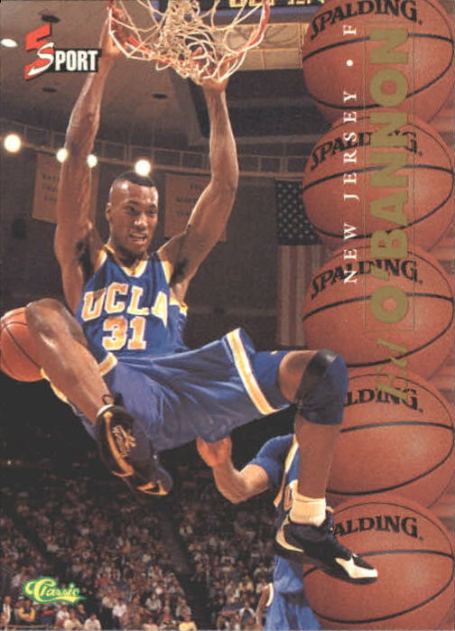 1995 Classic Five Sport #8 Ed O'Bannon