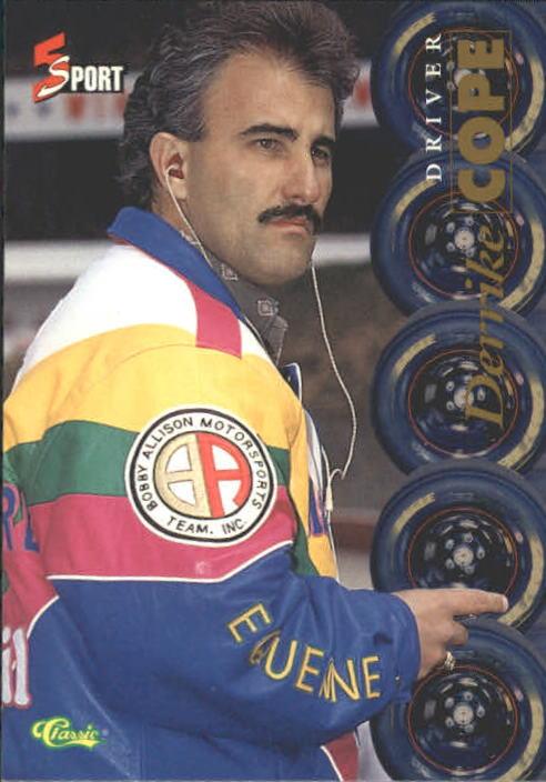 1995 Classic Five Sport #163 Derrike Cope