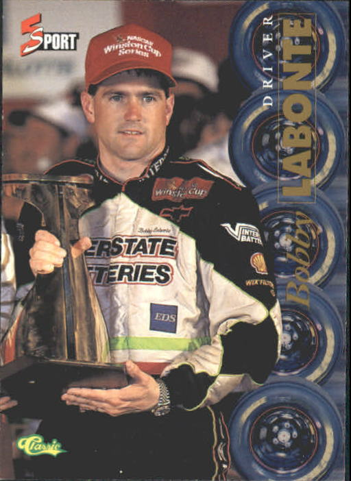1995 Classic Five Sport #166 Bobby Labonte