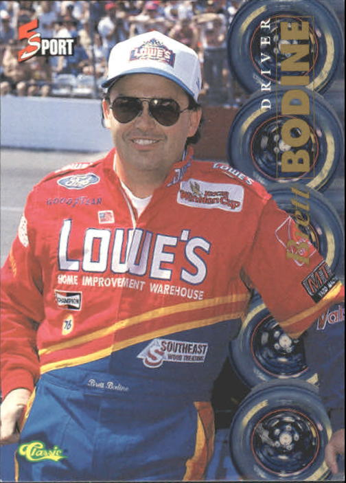 1995 Classic Five Sport #167 Brett Bodine