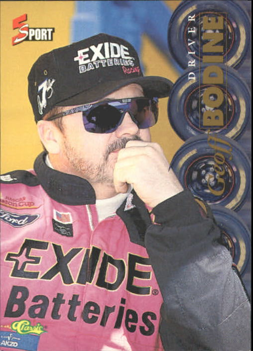 1995 Classic Five Sport #177 Geoff Bodine