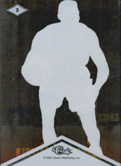 1996 Clear Assets #3 Scottie Pippen back image