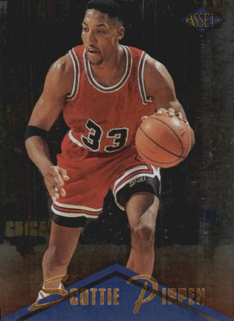1996 Clear Assets #3 Scottie Pippen