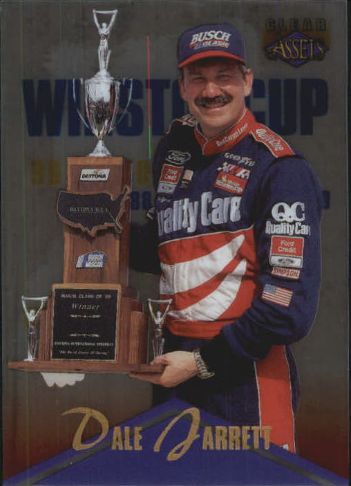 1996 Clear Assets #62 Dale Jarrett