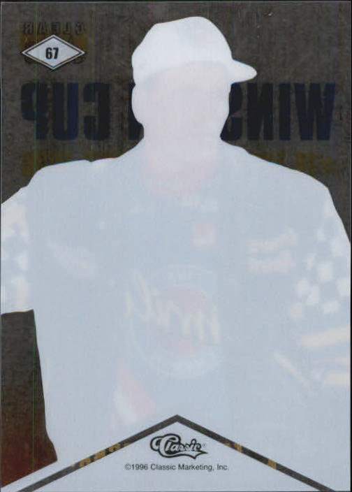 1996 Clear Assets #67 Ted Musgrave back image