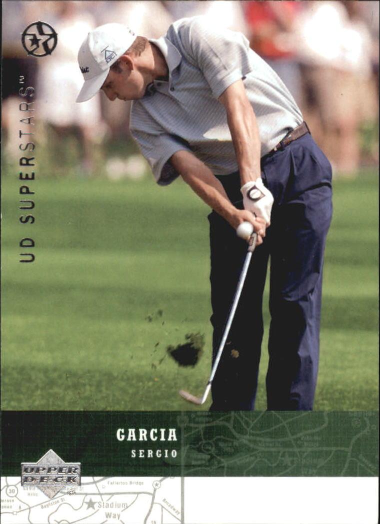 2002-03 UD SuperStars #26 Sergio Garcia