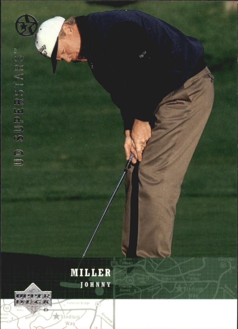 2002-03 UD SuperStars #91 Johnny Miller