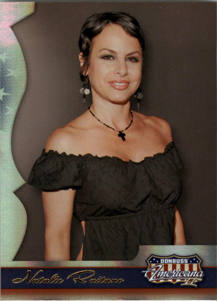 2008 Americana II #125 Natalie Raitano