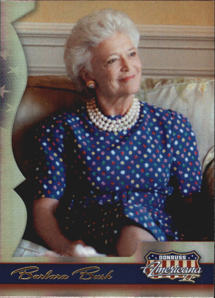 2008 Americana II #169 Barbara Bush