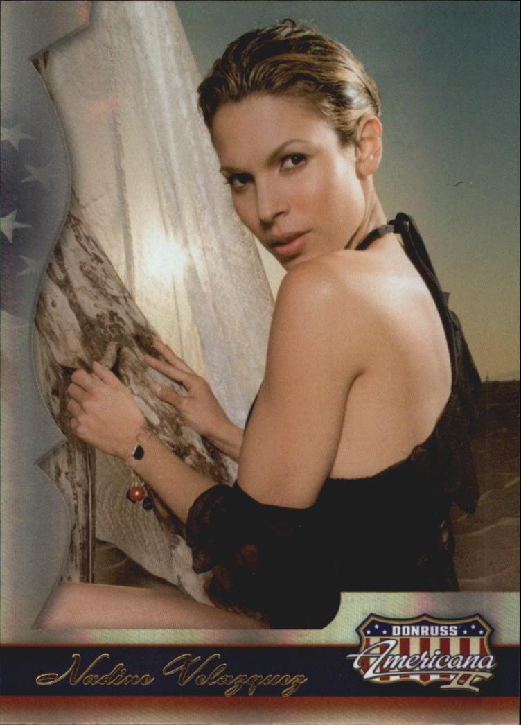 2008 Americana II #238 Nadine Velazquez SP