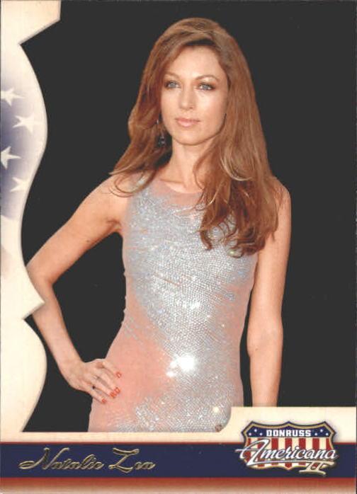 2008 Americana II Retail #111 Natalie Zea