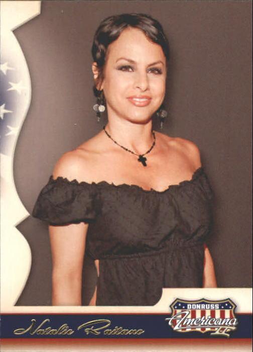 2008 Americana II Retail #125 Natalie Raitano