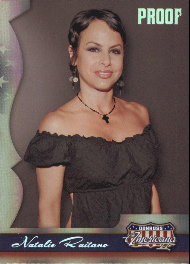 2008 Americana II Silver Proofs #125 Natalie Raitano