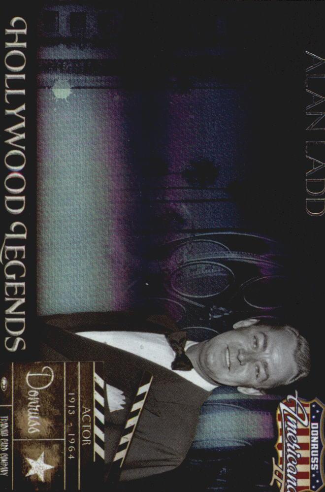 2008 Americana II Hollywood Legends #63 Alan Ladd