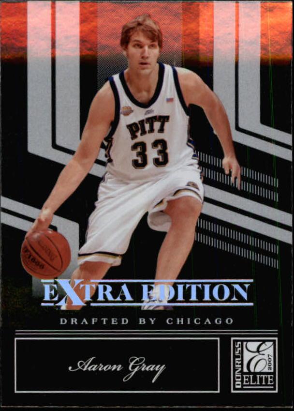 2007 Donruss Elite Extra Edition #57 Aaron Gray