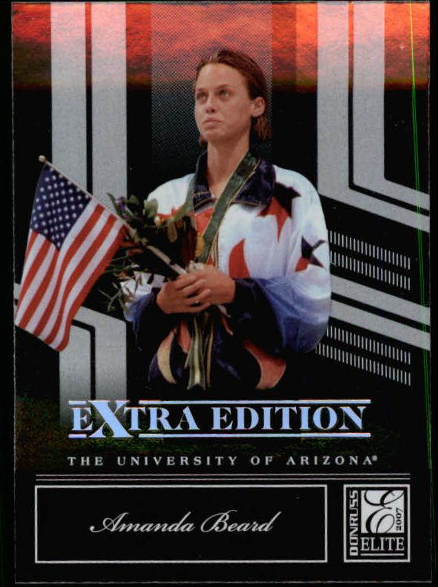 2007 Donruss Elite Extra Edition #78 Amanda Beard