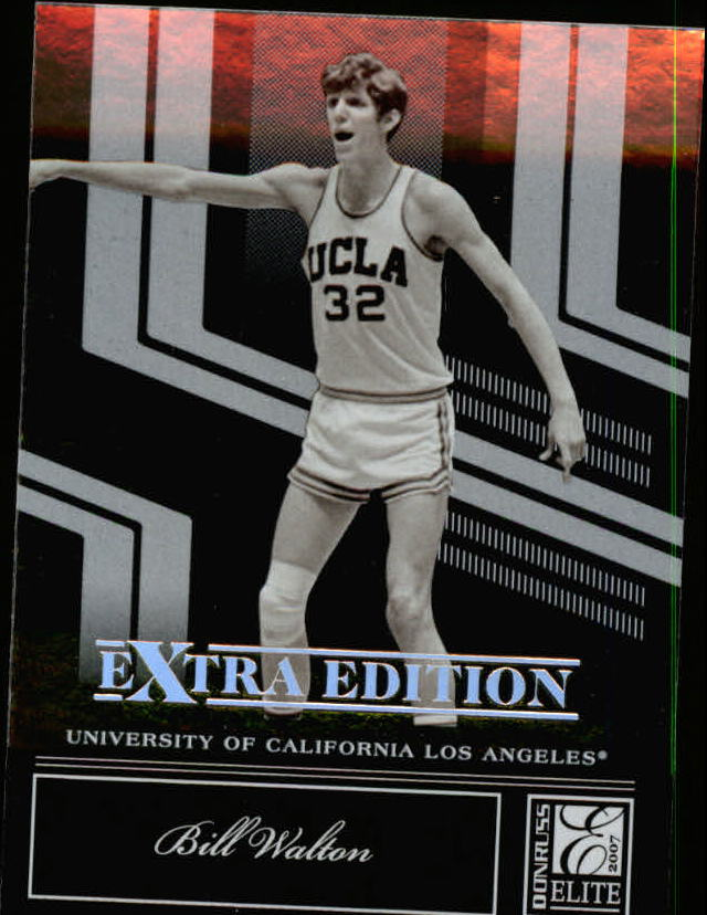 2007 Donruss Elite Extra Edition #85 Bill Walton