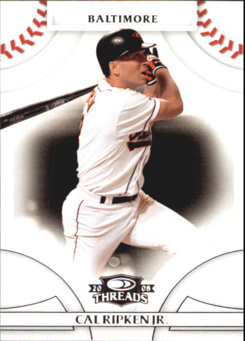 2008 Donruss Threads #4 Cal Ripken Jr.