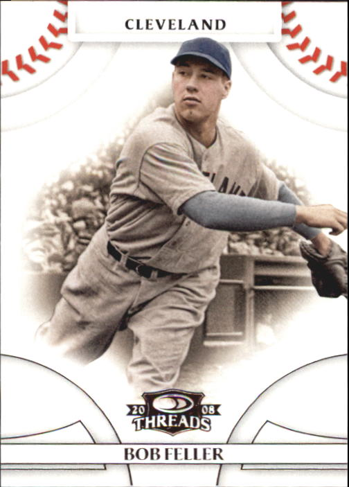 2008 Donruss Threads #22 Bob Feller