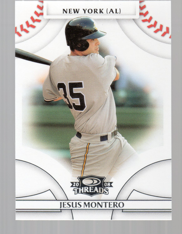 2008 Donruss Threads #80 Jesus Montero