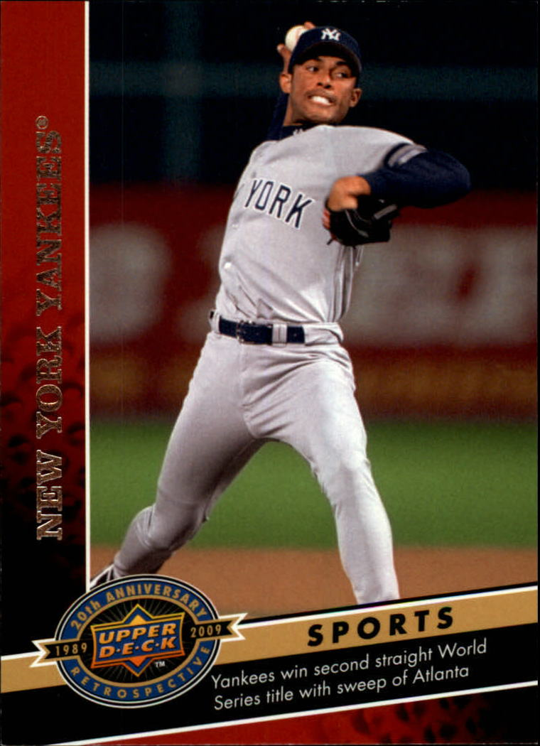 2009 Upper Deck 20th Anniversary #1279 New York Yankees