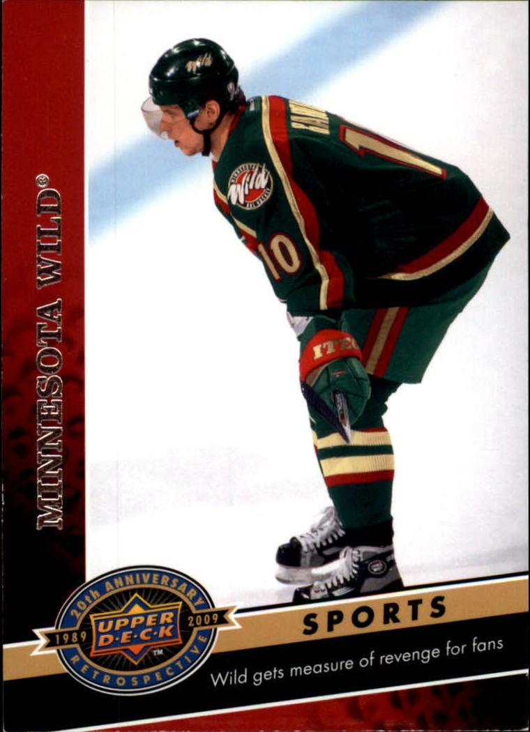 2009 Upper Deck 20th Anniversary #1494 Minnesota Wild