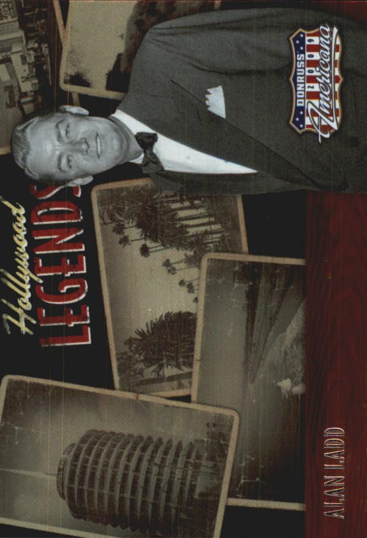 2009 Americana Hollywood Legends #9 Alan Ladd