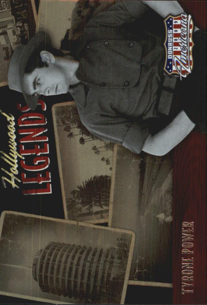 2009 Americana Hollywood Legends #21 Tyrone Power
