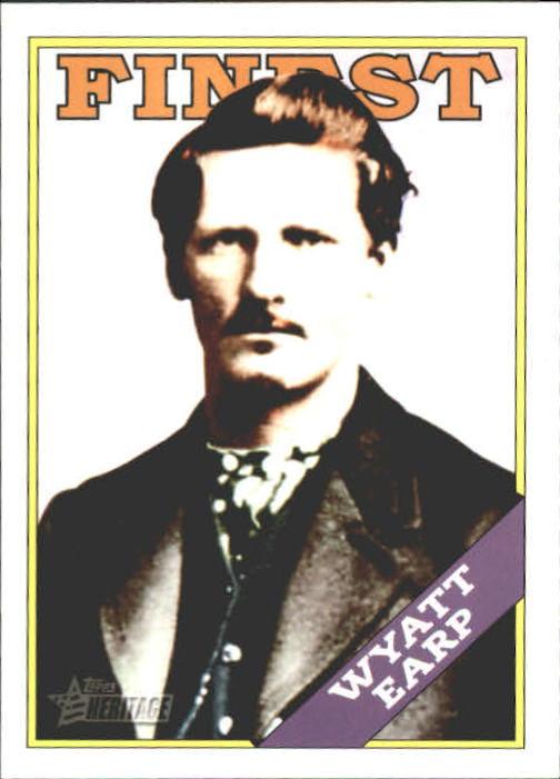2009 Topps American Heritage Heroes #42 Wyatt Earp