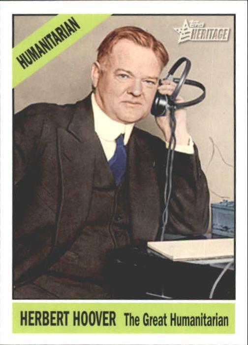 2009 Topps American Heritage Heroes #77 Herbert Hoover