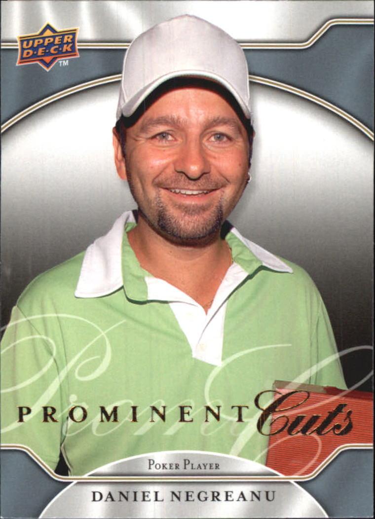 2009 Upper Deck Prominent Cuts #29 Daniel Negreanu