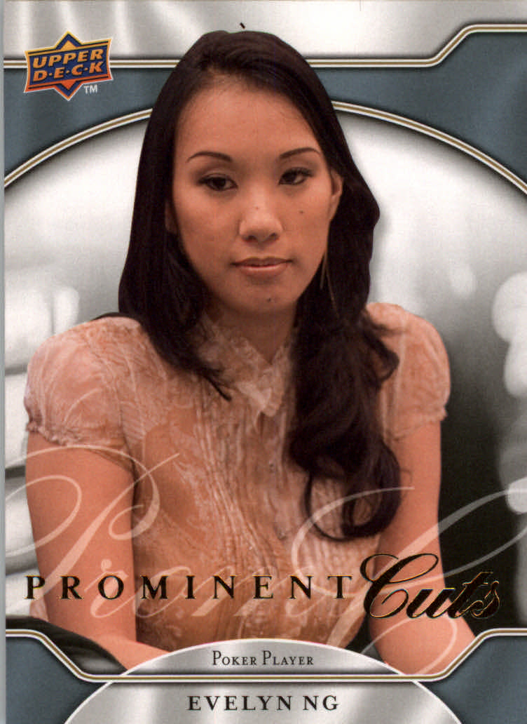 2009 Upper Deck Prominent Cuts #30 Evelyn Ng